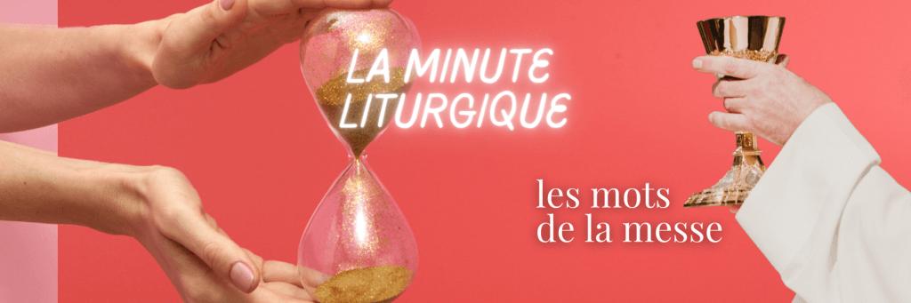 La minute liturgique sur le site de l'Église catholique de France