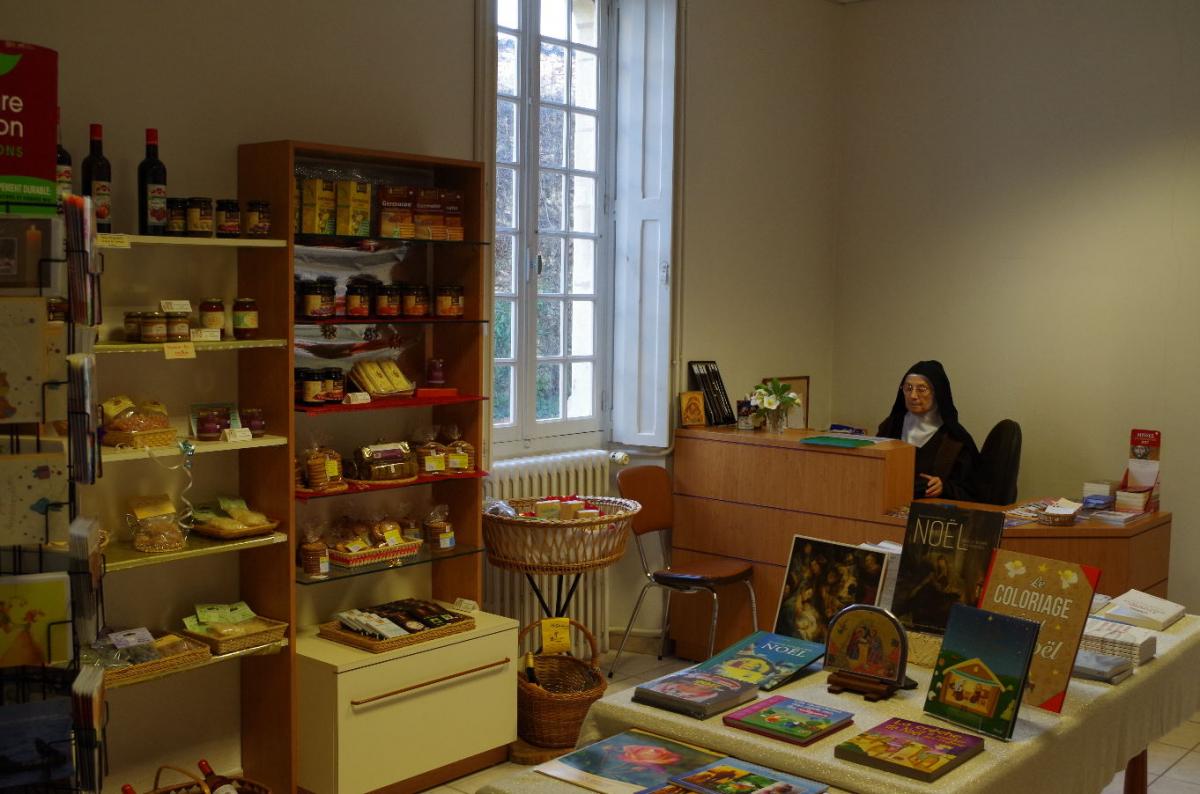 Boutique du Carmel, Produits monastiques