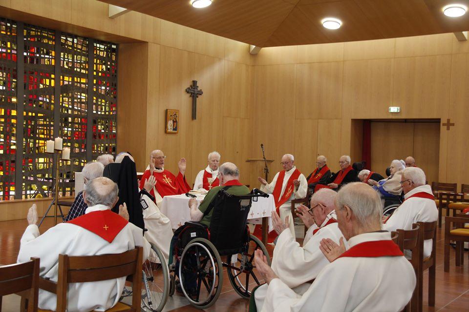 Solennité des Saints Pierre et Paul à la maison de retraite du clergé au Landreau