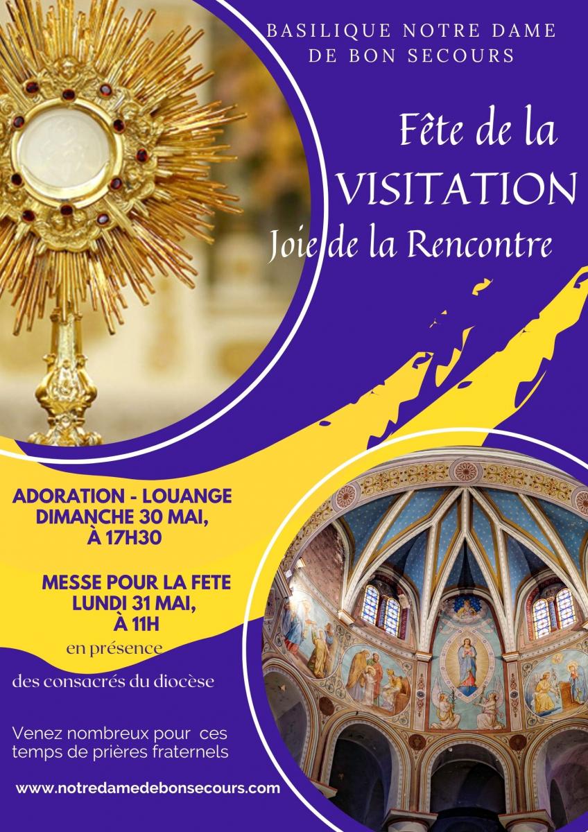 Fête de la Visitation de la Vierge Marie