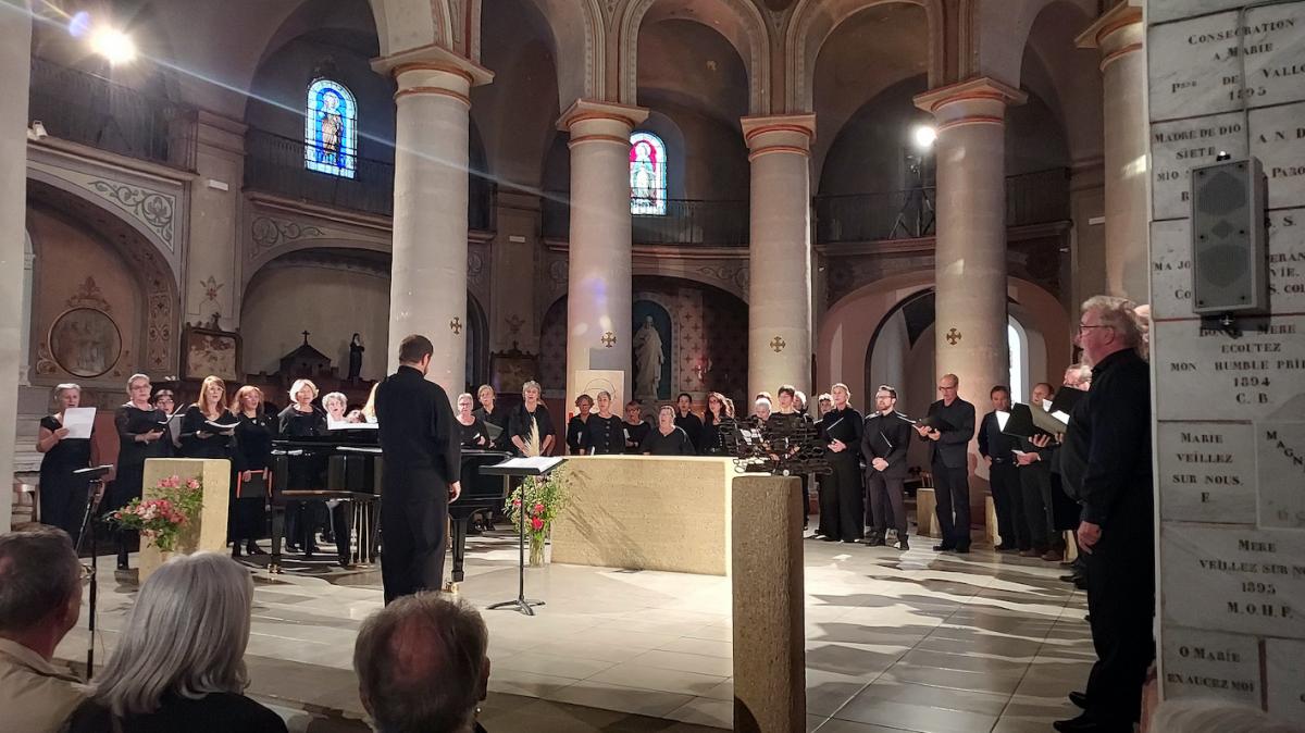 Concert donné à la Basilique Notre Dame de Bon Secours