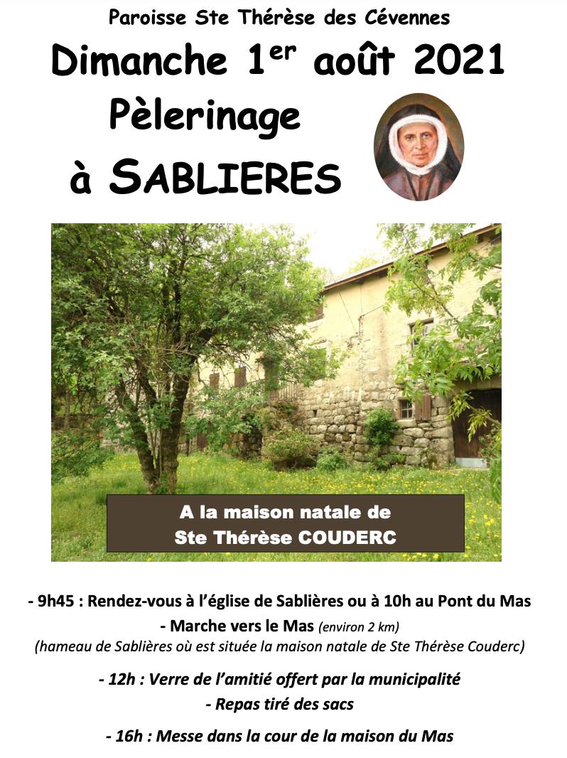 Pélerinage à Sablières