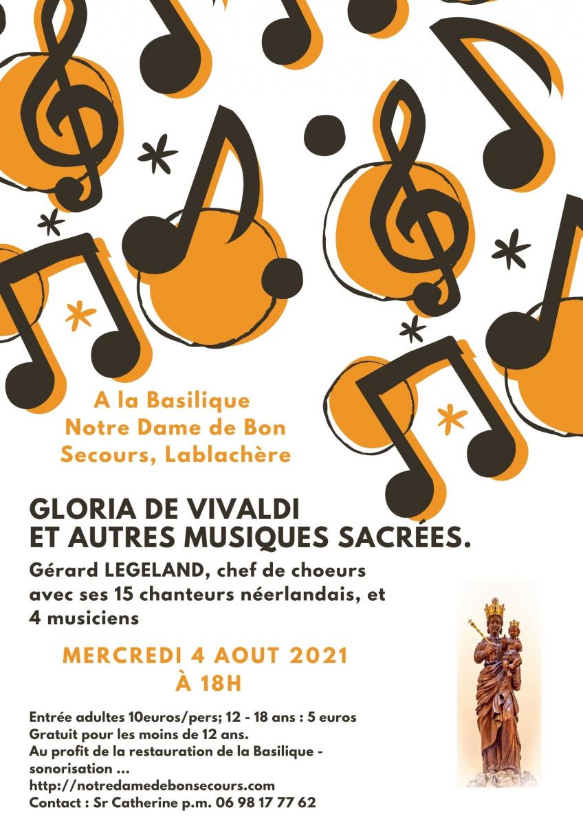 Annulé raison sanitaire / 1er Concert à la Basilique Notre Dame de Bon Secours
