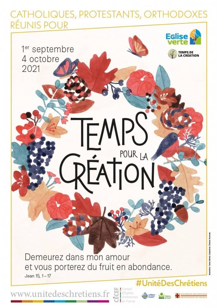 La saison de la Création du 1er septembre au 4 octobre 2021
