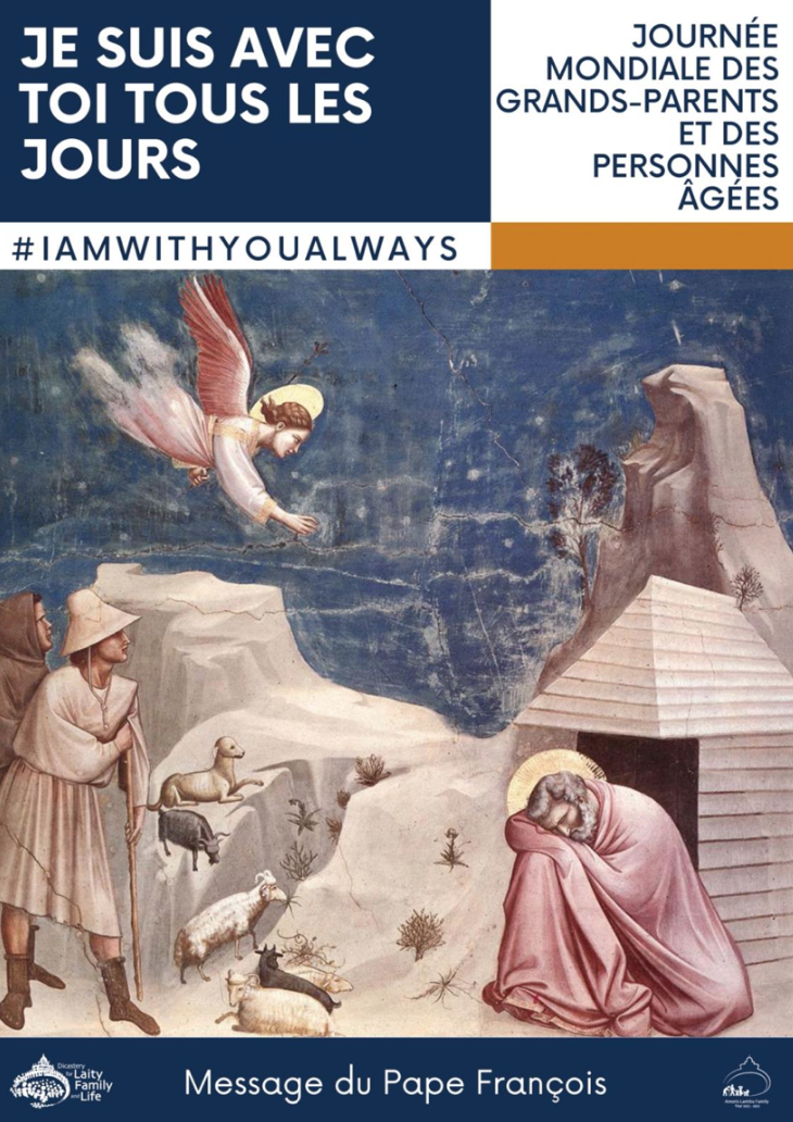 Message du Pape pour la 1ère Journée Mondiale des Grands Parents et des Personnes Agées