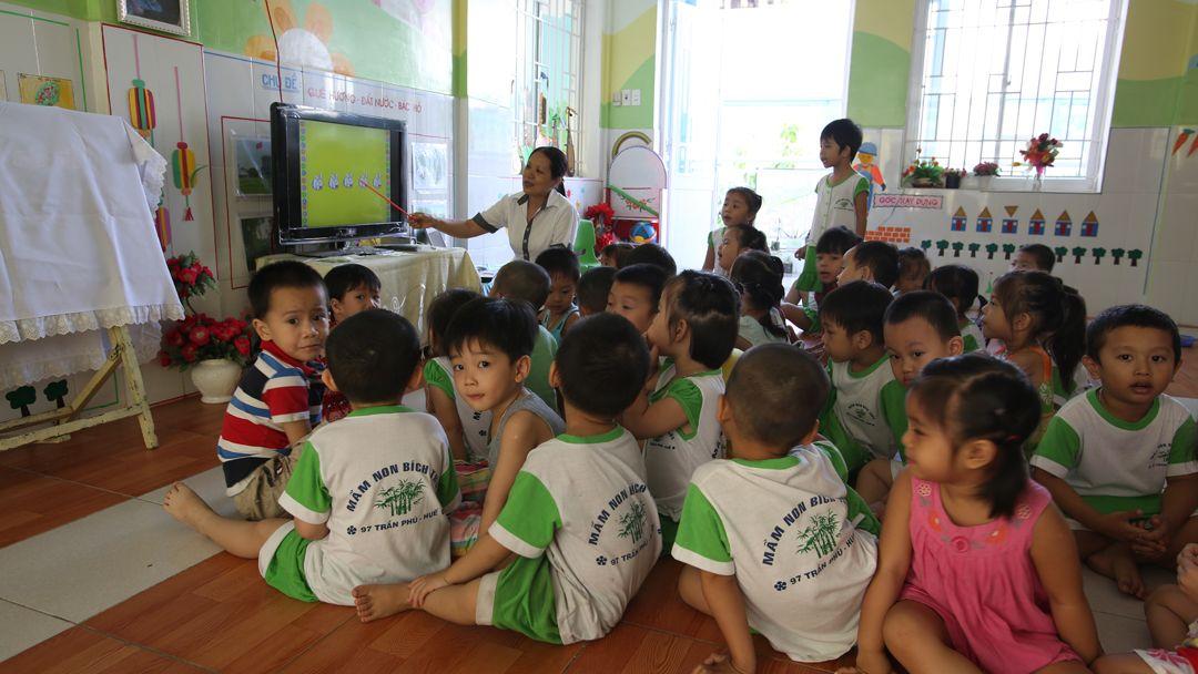 L'école Bich Truc à Huê