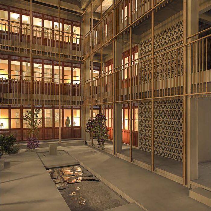 Exposition Bêtania : Future maison des étudiantes de Huê, au Vietnam.