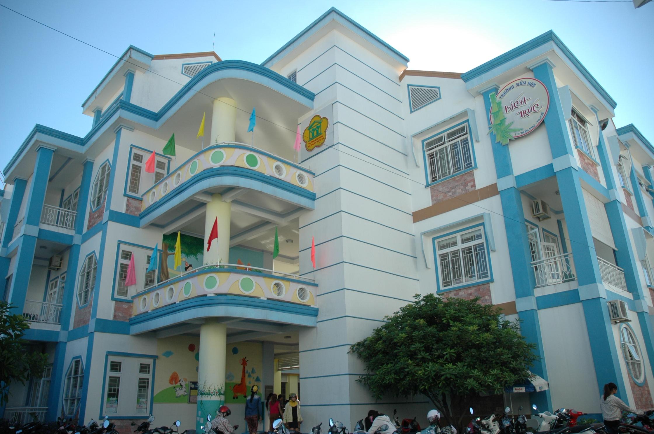 Journée de rentrée à l'école de Huê