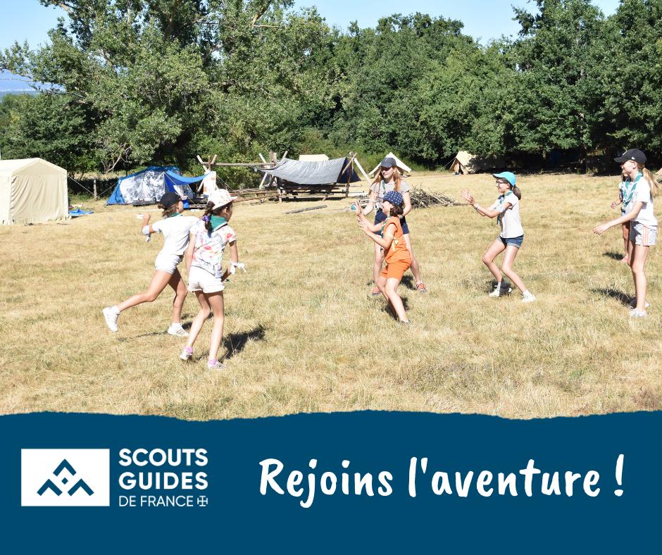 Les Scouts et Guides de France font leur rentrée !