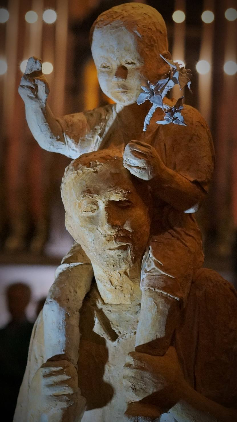 Pour commander la statue de 'Saint-Joseph de la Marche'
