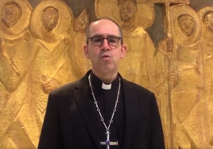 """Monseigneur Matthieu Rougé, un appel à lutter en cette période de Carême contre tous les """"virus"""": la division, l'égoïsme, la malveillance, le découragement"""