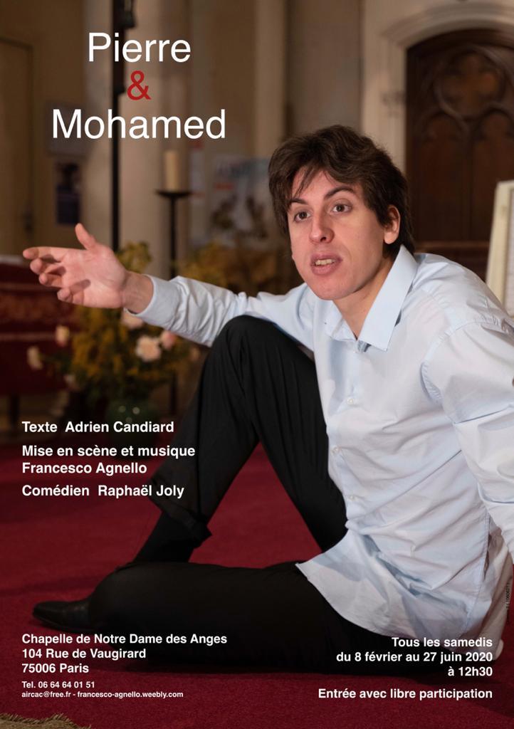 """""""Pierre et Mohamed"""", une pièce de Francesco Agnello"""