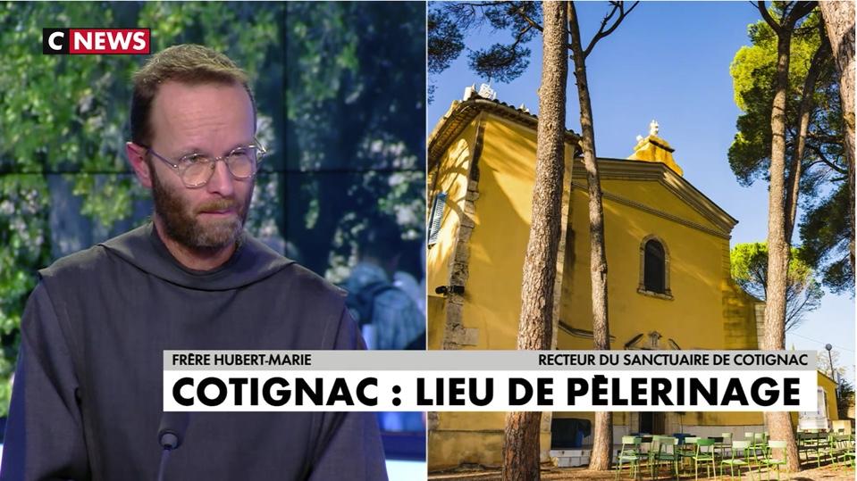 """Emission CNEWS, Saint Joseph et Cotignac: """"Je suis Joseph, soulève cette pierre et tu boiras"""""""