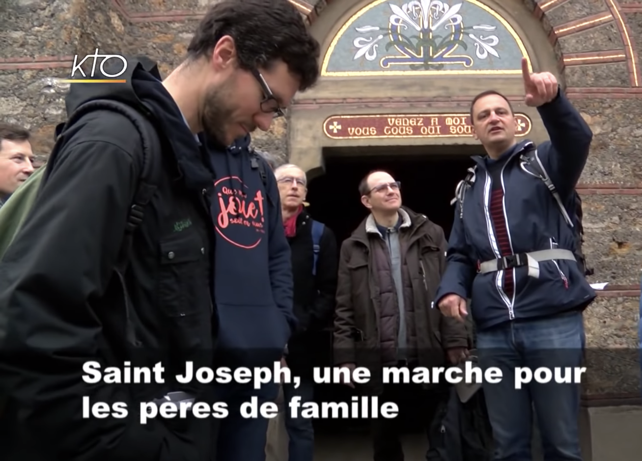 Reportage KTO : Saint Joseph, une marche pour les pères de familles