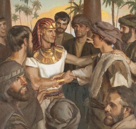 St Joseph préfiguré par les patriarches