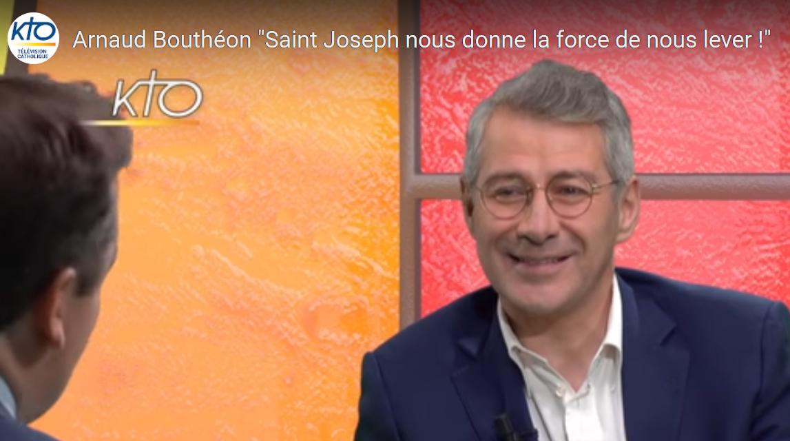 Saint Joseph nous donne la force de nous lever