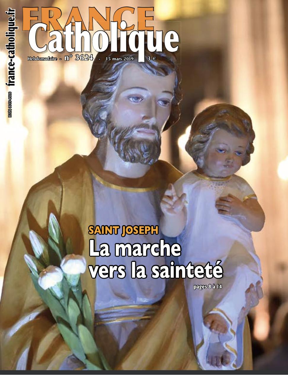 France Catholique: La marche vers la Sainteté, dossier sur Saint Joseph
