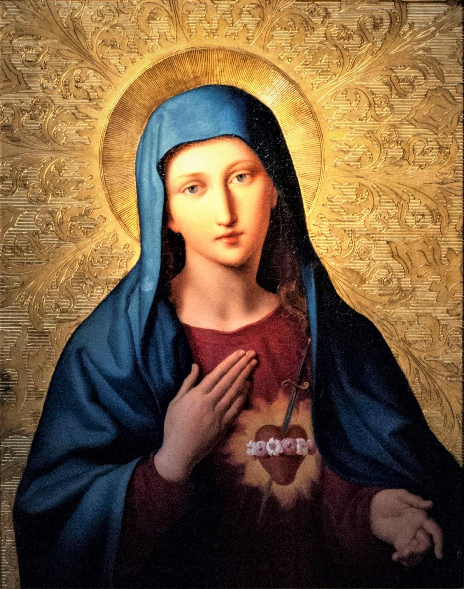 Prions ensemble le chapelet et consacrons nos maisonnées au Coeur Immaculé de Marie