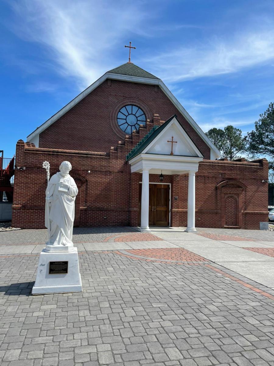 Cheseapeak - Virginia -St Benedict Church.JPG