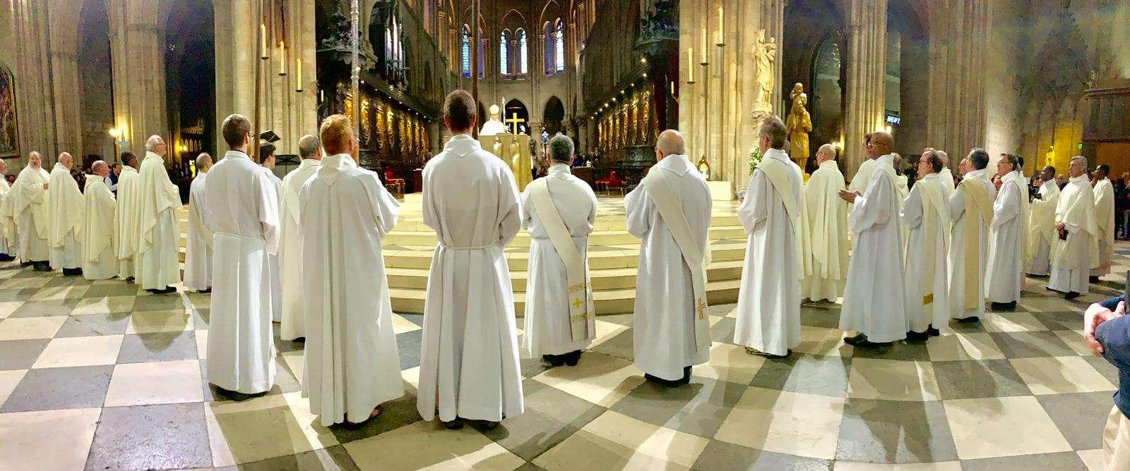 Messe à Notre Dame le 16 mars 2019