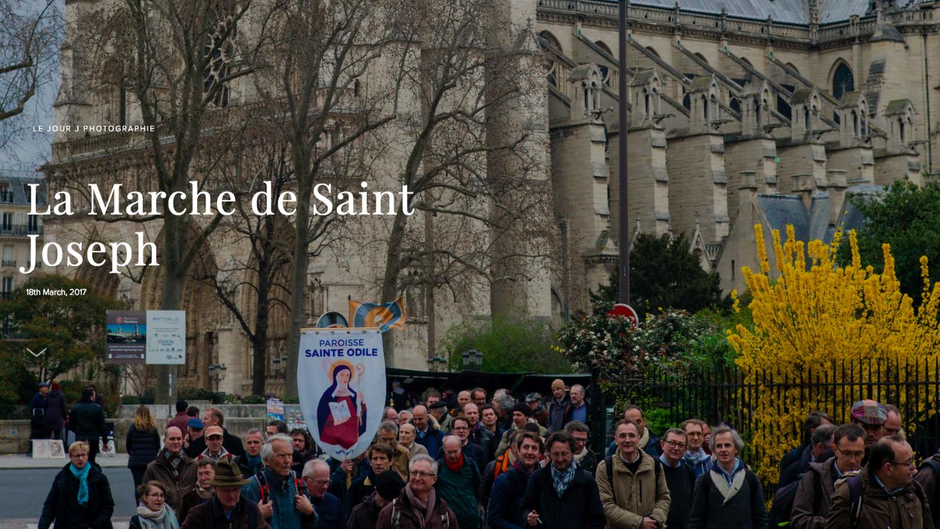 Les photos de la marche de Saint Joseph 2017