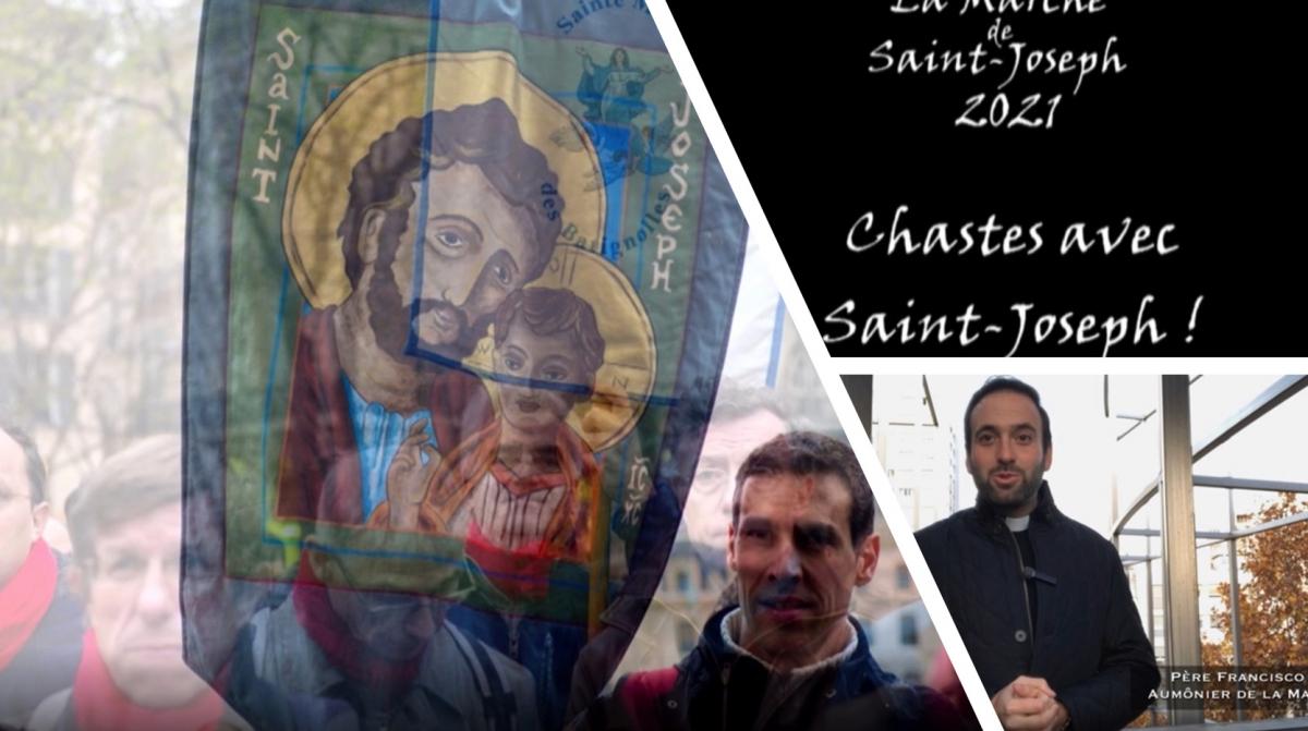 Présentation du thème de la Marche de Saint Joseph 2021