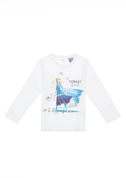 تی شرت آستین بلند طرحدار دخترانه ماوی