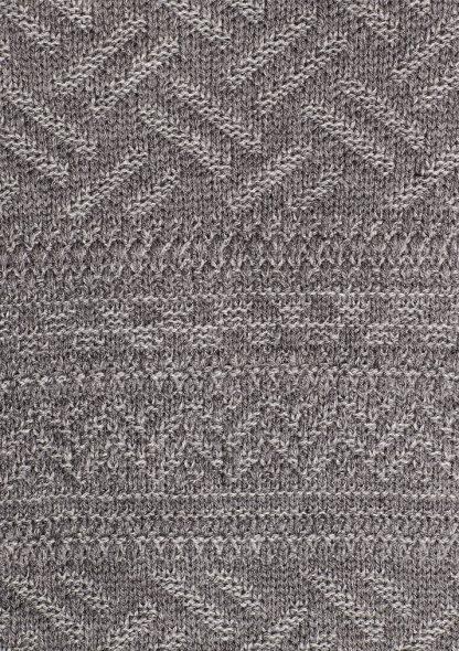 پلیور یقه گرد خاکستری مردانه ماوی
