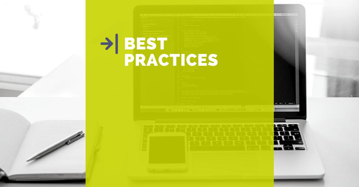 Le best practice sono il faro da seguire