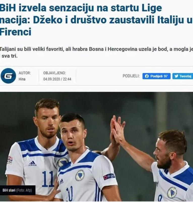 (Index 3).png - (FOTO) Regionalni mediji puni hvale na račun Zmajeva: BiH napravila seznaciju na startu Lige nacija