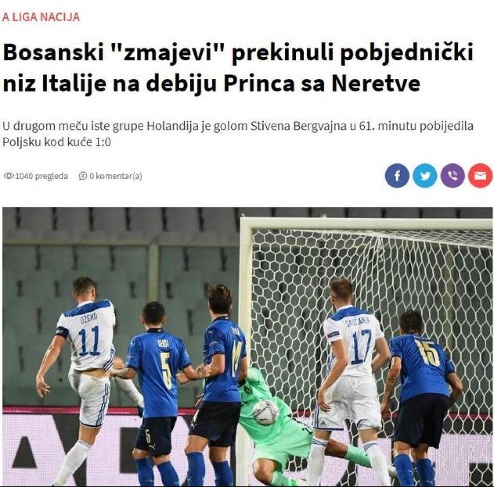 (index 4).png - (FOTO) Regionalni mediji puni hvale na račun Zmajeva: BiH napravila seznaciju na startu Lige nacija