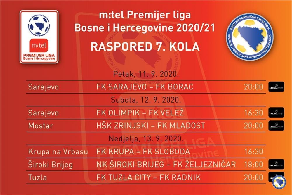 mtel_Premijer_liga_BiH_7_kolo_1024x683pix.jpg - Pet utakmica sedmog kola m:tel Premijer lige Bosne i Hercegovine u direktnim prenosima