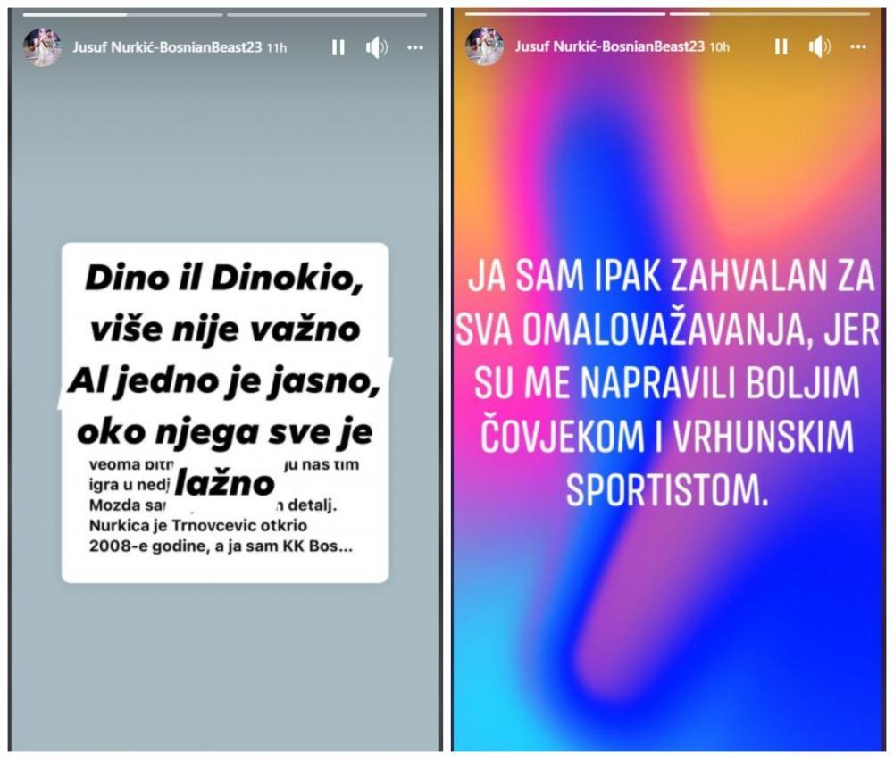 jusuf.jpg - Prepucavanja na društvenim mrežama se nastavljaju: Jusuf Nurkić ponovo odgovorio Dini Konakoviću
