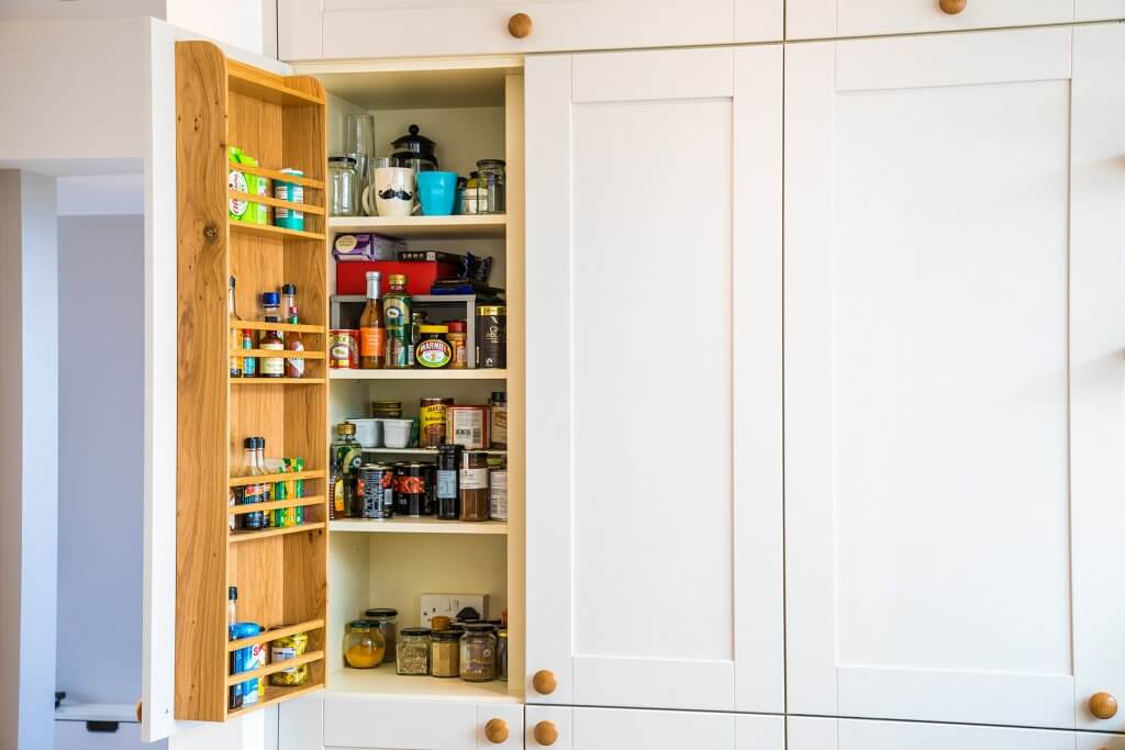 kitchen larder food storage cupboard
