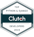 Clutch award top Python & Django Developers 2019