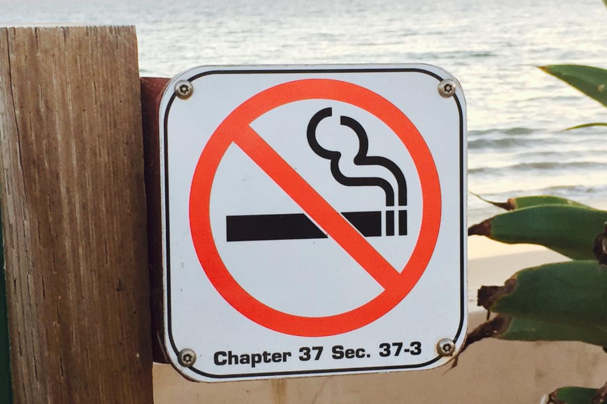 Les espaces sans tabac pour protéger votre santé et l'environnement