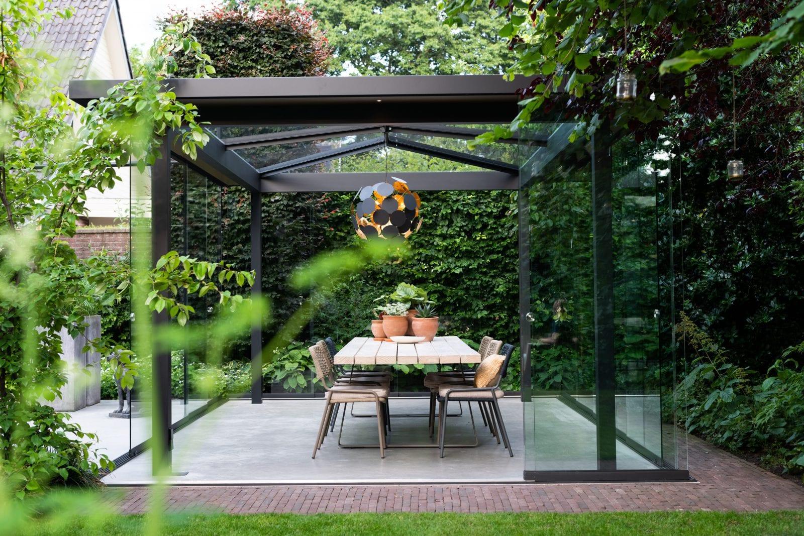 Luxe tuinkamer vrijstaande overkapping Barneveld
