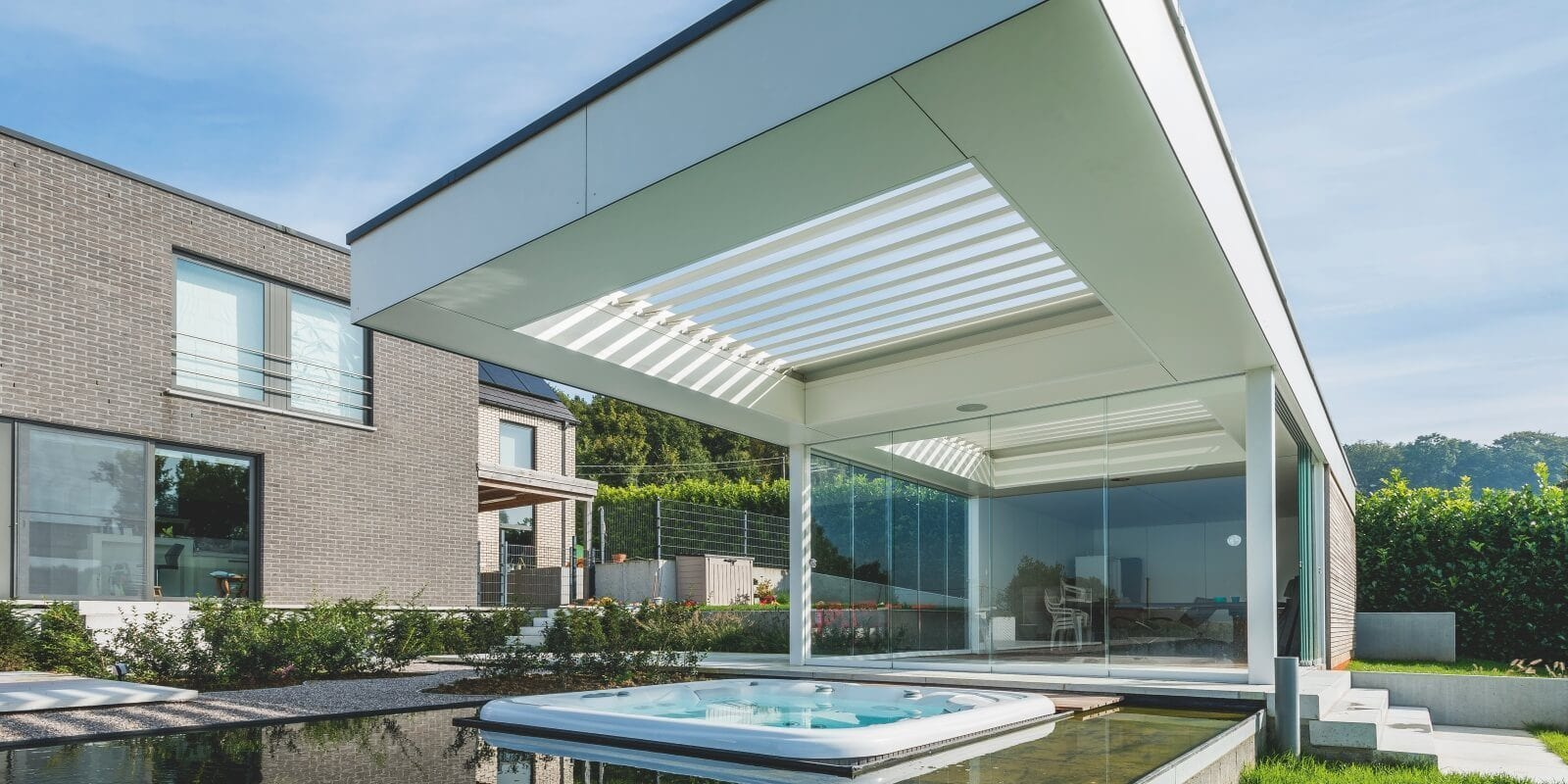 Poolhouse luxe