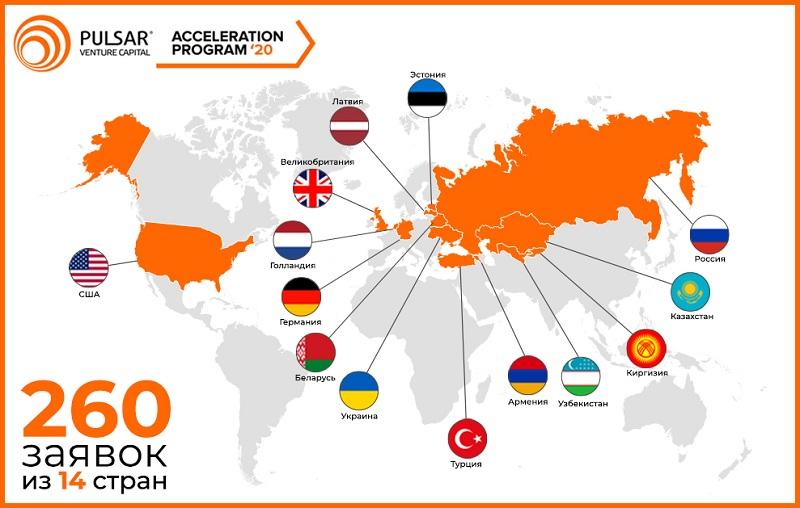 Завершился прием заявок на пятую международную акселерационную программу Pulsar Venture Capital