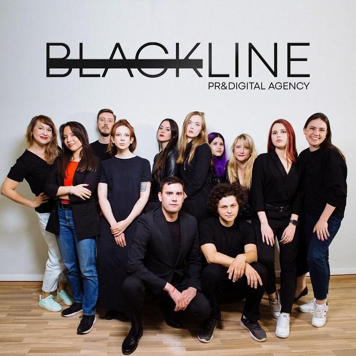 Коммуникационное агентство Blackline PR&Digital показало новый стиль после ребрендинга