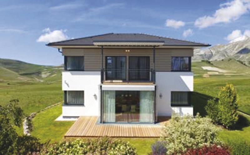 La parete passiva aiuta l 39 efficienza energetica for Moderna casa a 2 piani