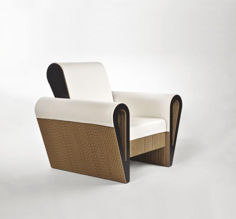 Mobili in cartone ecologici eleganti e sofisticati for Mobili di design in offerta