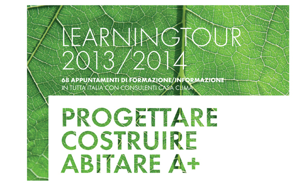 Abitare A+ Learning Tour 2013