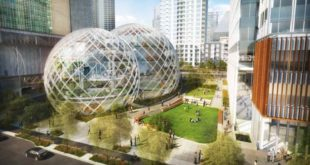 Il progetto della nuova sede eco-friendly di Amazon a Seattle