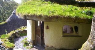 Una casa realizzata in cob
