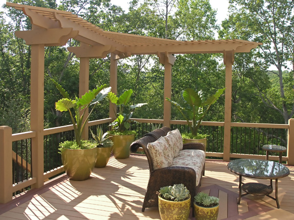 Il patio ecosostenibile