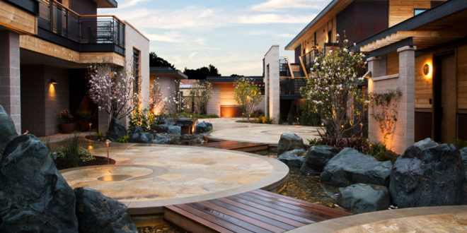 Eco resort Bardessono in California