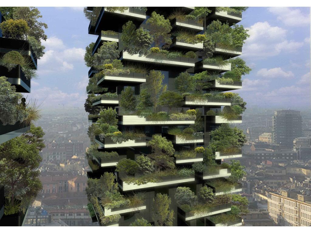 Il primo bosco verticale a milano casa naturale