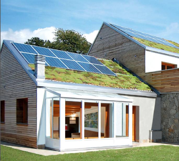 Il progetto efficiente di un villaggio green