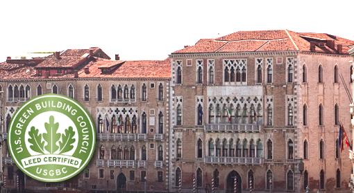 Certificazione LEED per Università Ca'Foscari